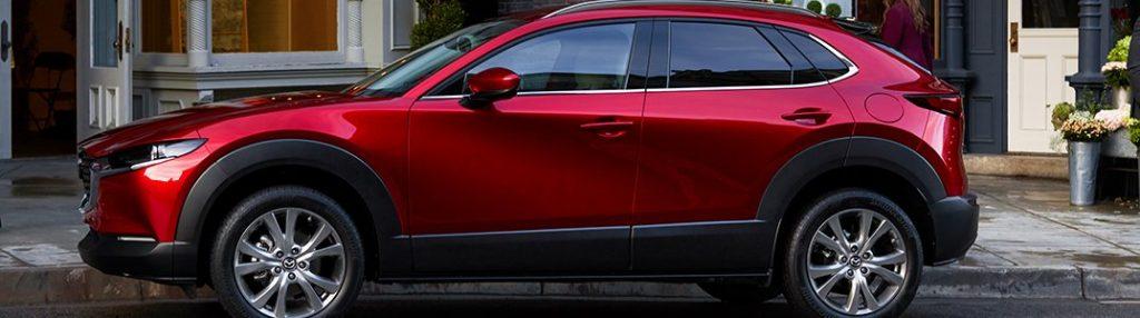 2020 Mazda CX-30 parked on a city street
