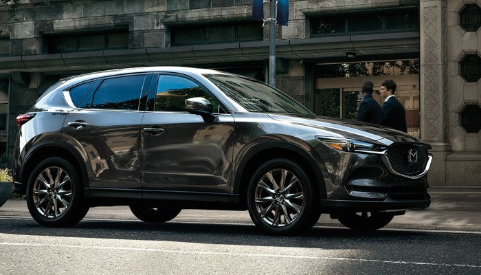 2020 Mazda CX-5 from the side