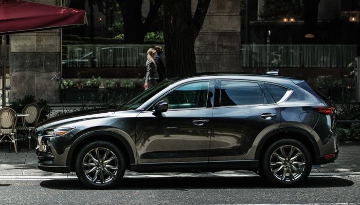 2020 Mazda CX-5 on a city street
