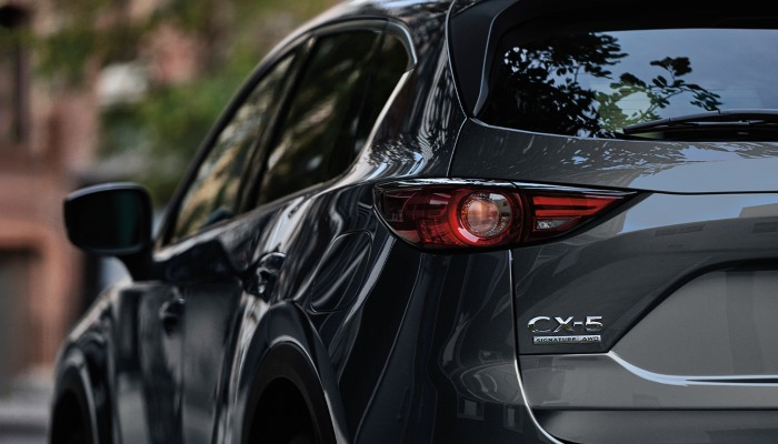 2020 Mazda CX-5 from behind
