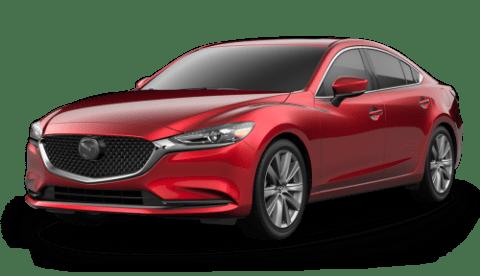 2020 Mazda6 Grand Touring over a white background