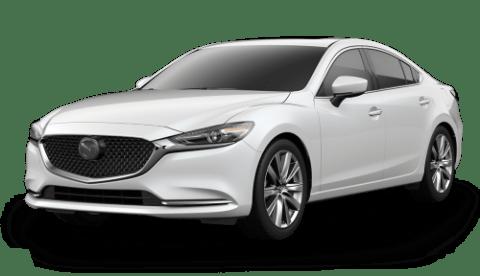 2020 Mazda6 Grand Touring Reserve over a white background