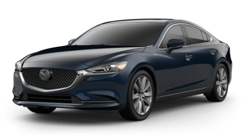 2020 Mazda6 Touring over a white background