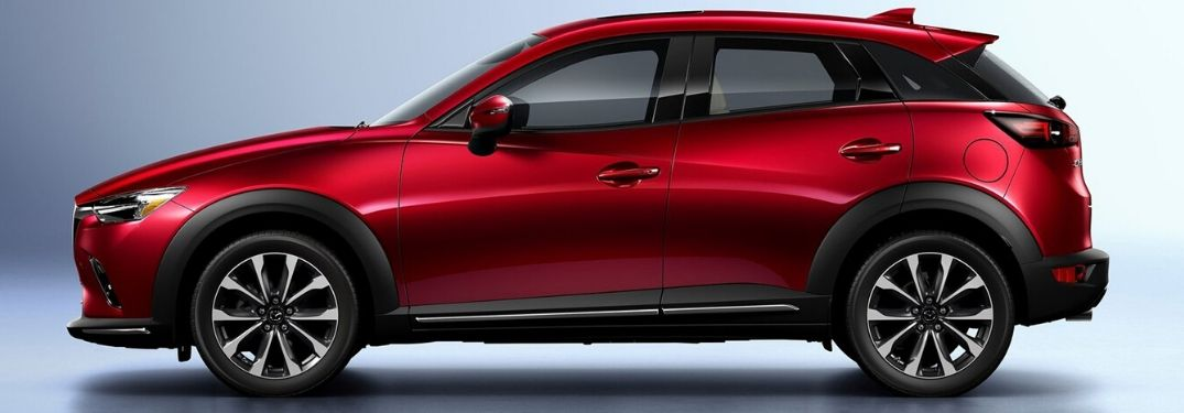 2020 Mazda CX-3 from the side