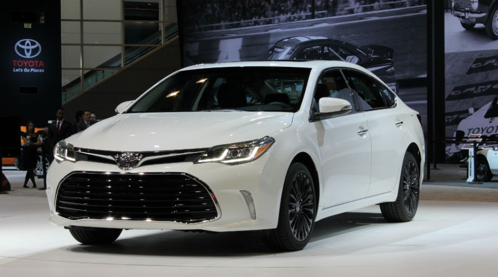 New 2016 Toyota models unveiled