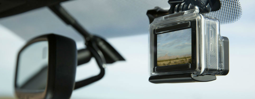 Built-In GoPro Mount Standard in 2016 Toyota Tacoma