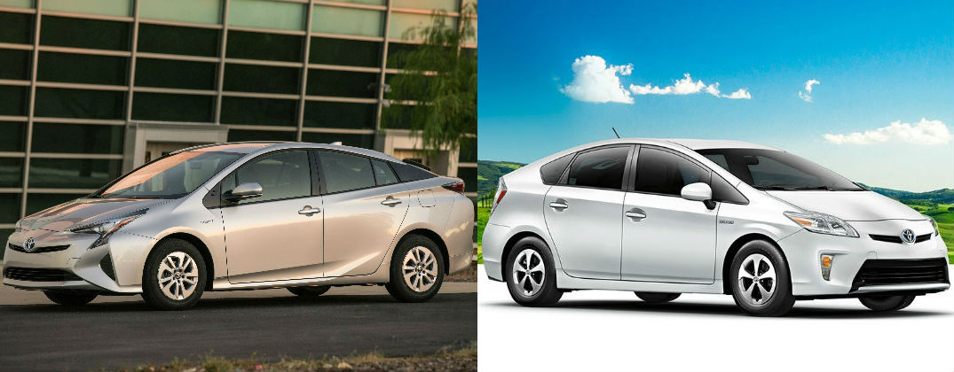 Differences Between 2016 Toyota Prius And 2015 Toyota Prius