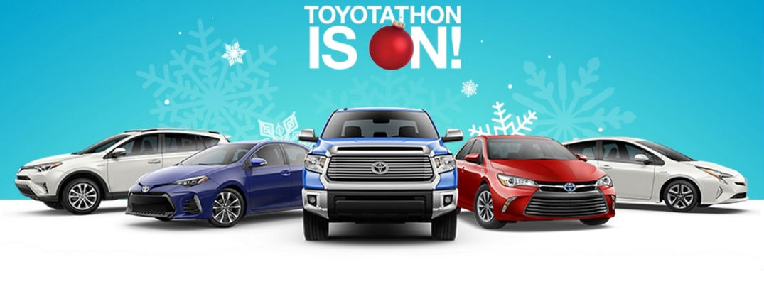 Toyota Sales Event >> 2016 Toyotathon Holiday Sales And Incentives Fort Smith Ar