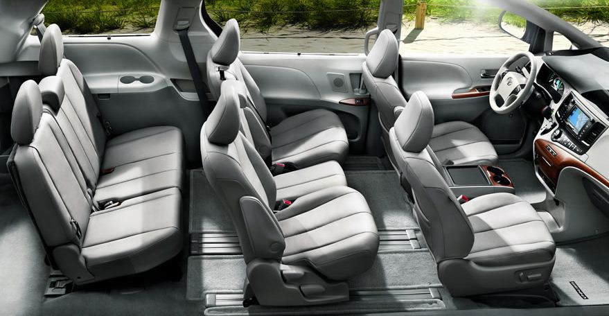 Attractive 2013 Toyota Sienna Caters To Every Member Of The Family » 2013 Toyota Sienna  Interior
