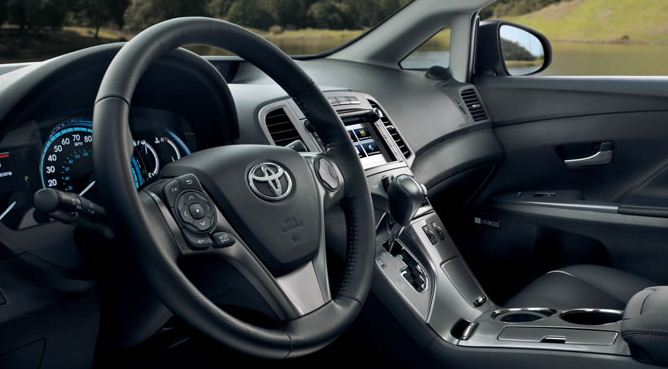 2013 toyota venza interior hesser toyota. Black Bedroom Furniture Sets. Home Design Ideas