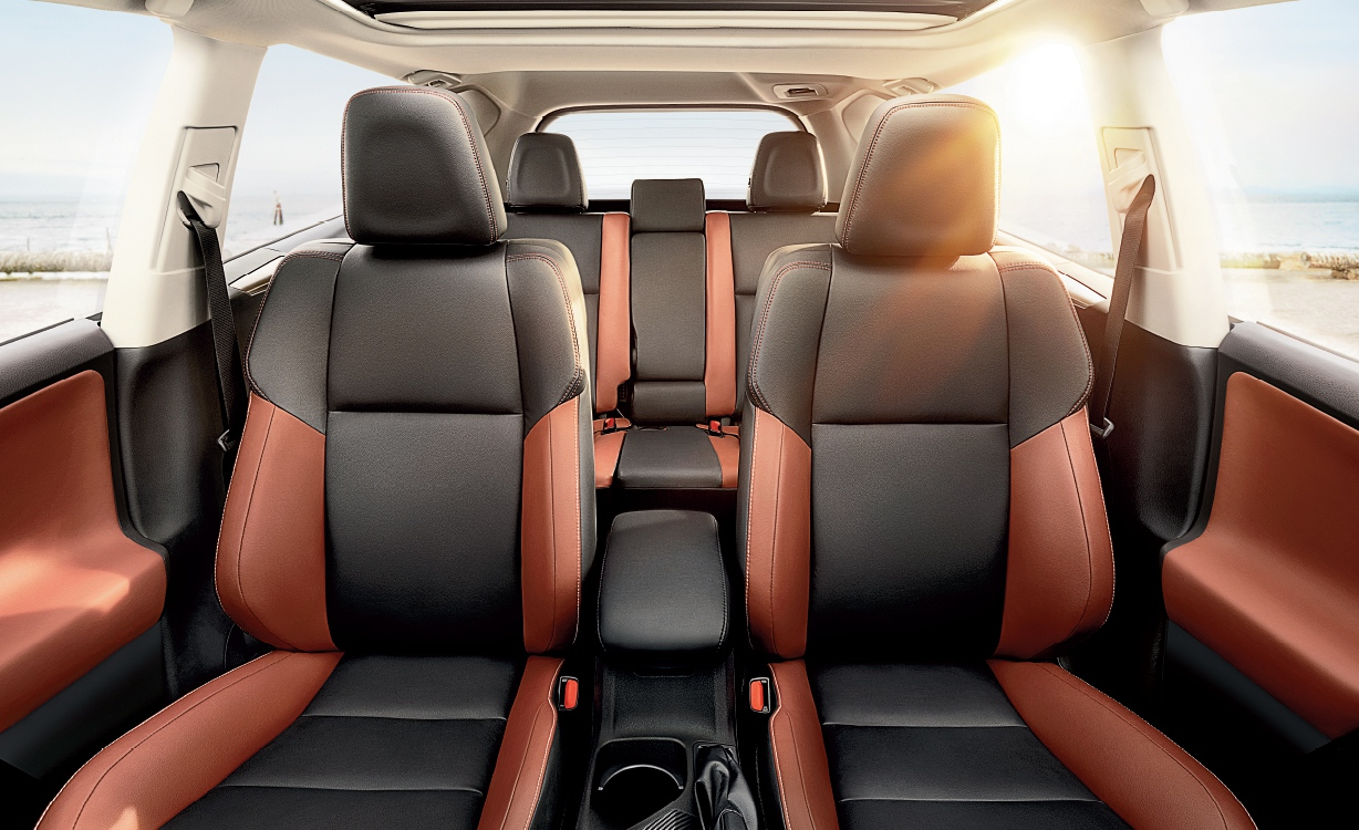 Captivating 2015 Toyota RAV4 Interior