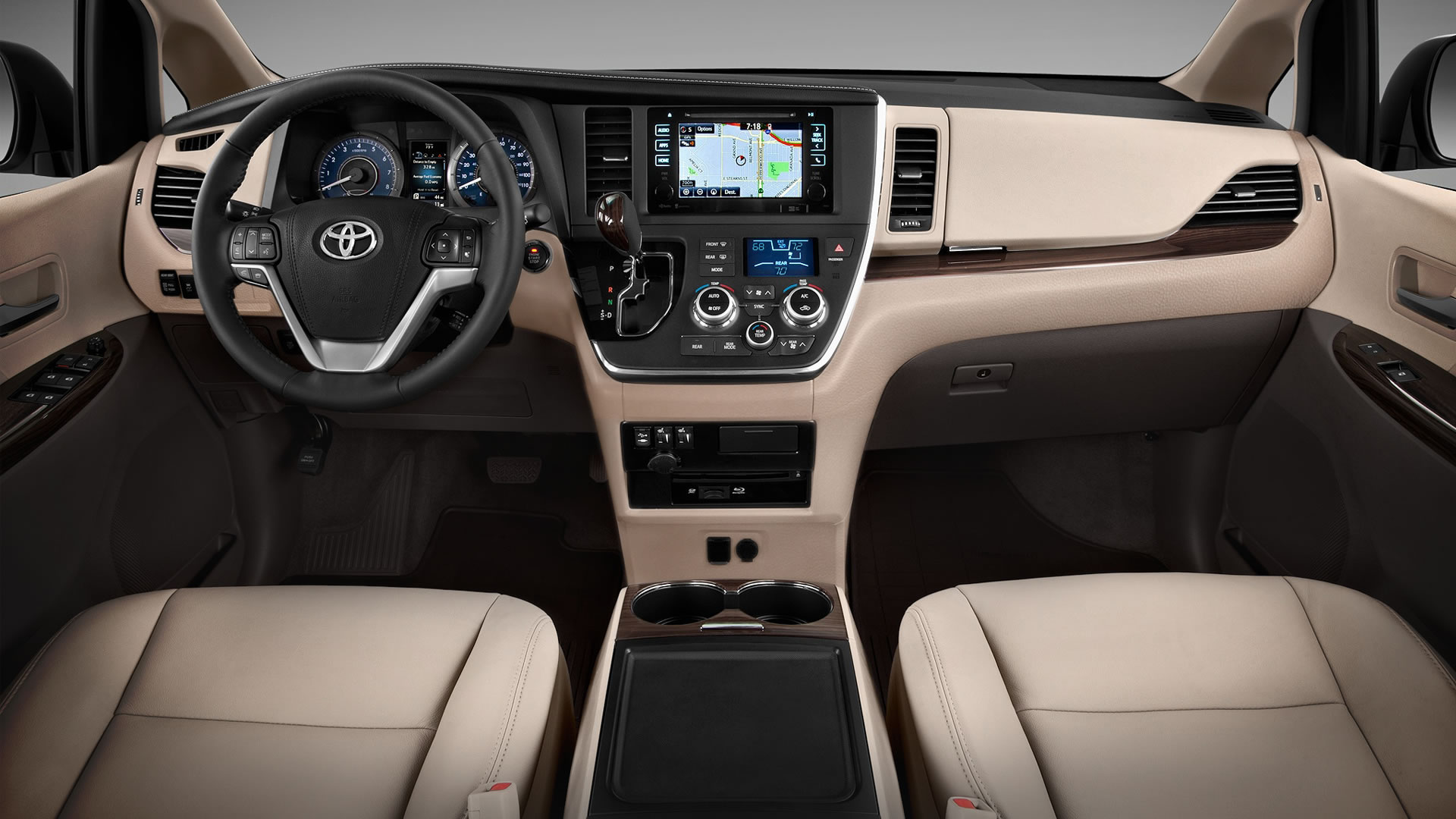 2015 Toyota Sienna Interior Ideas