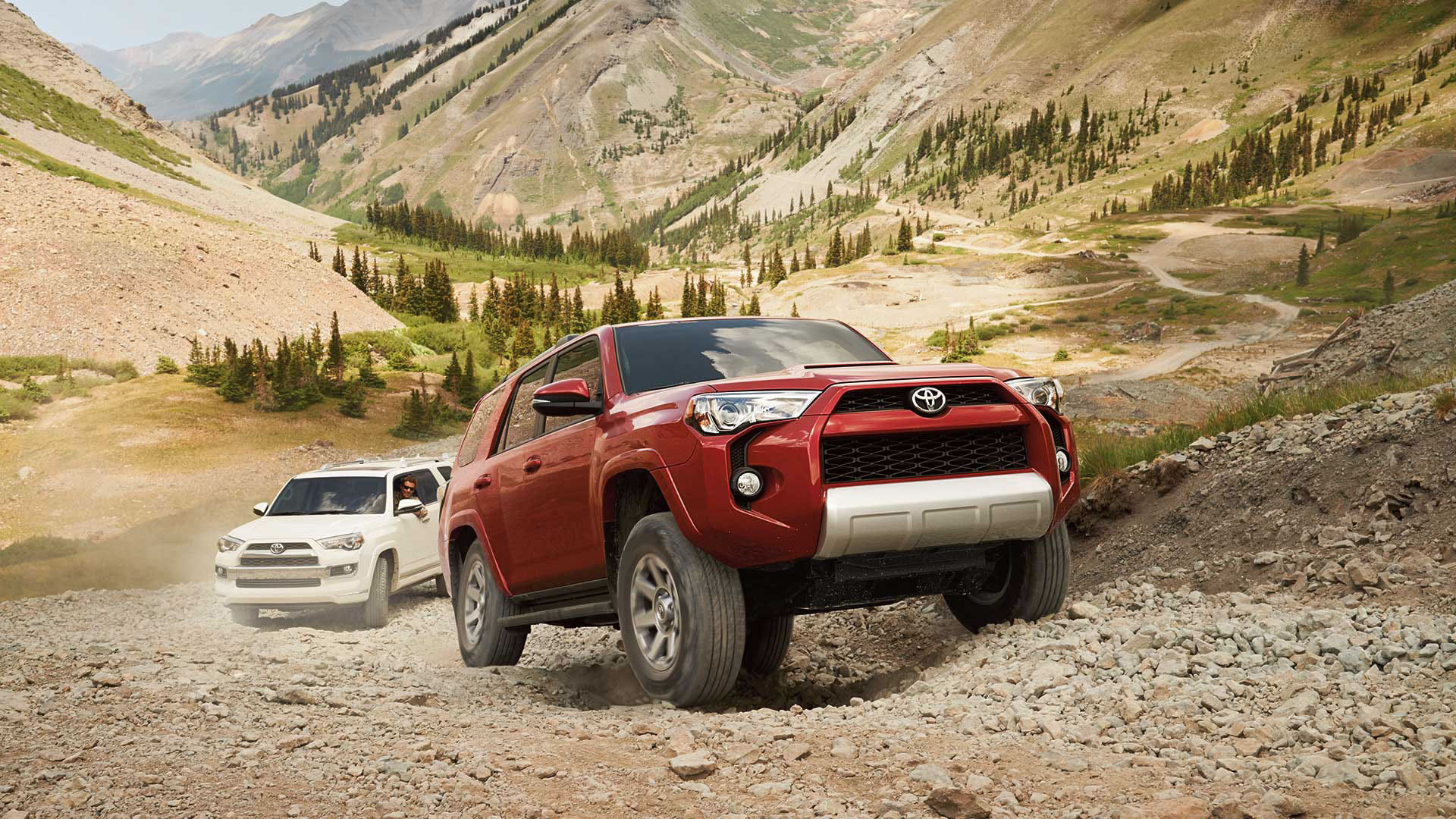 4Runner four wheel drive capabilities Hesser Toyota