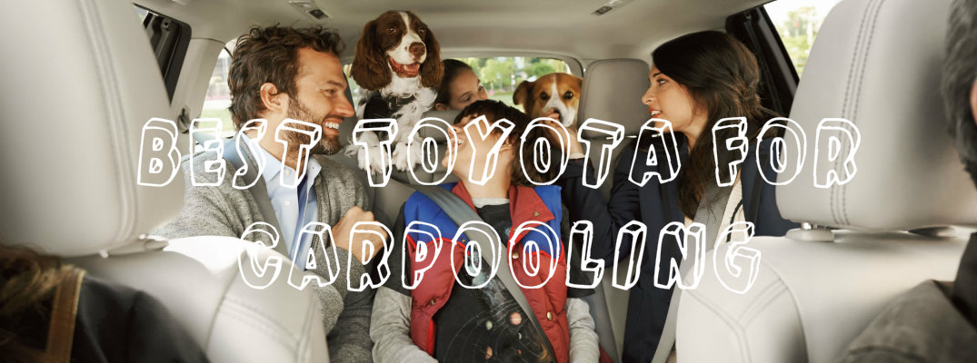 Best 8-passenger Toyota SUVs for carpoolers