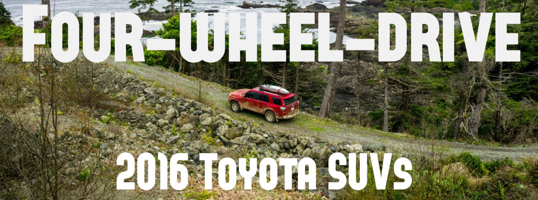 Four-wheel-drive 2016 Toyota SUVs in Janesville, WI