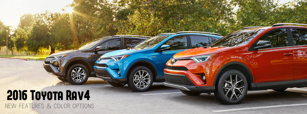 2016 Toyota Rav4 New Features And Color Options