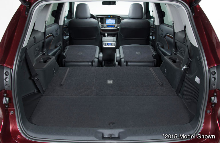 Beautiful 2016 Toyota Highlander Max Cargo Space