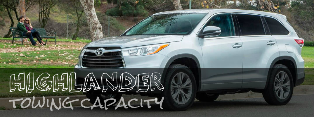 Toyota Highlander Towing Capacity >> 2016 Toyota Highlander Towing Capacity Hesser Toyota
