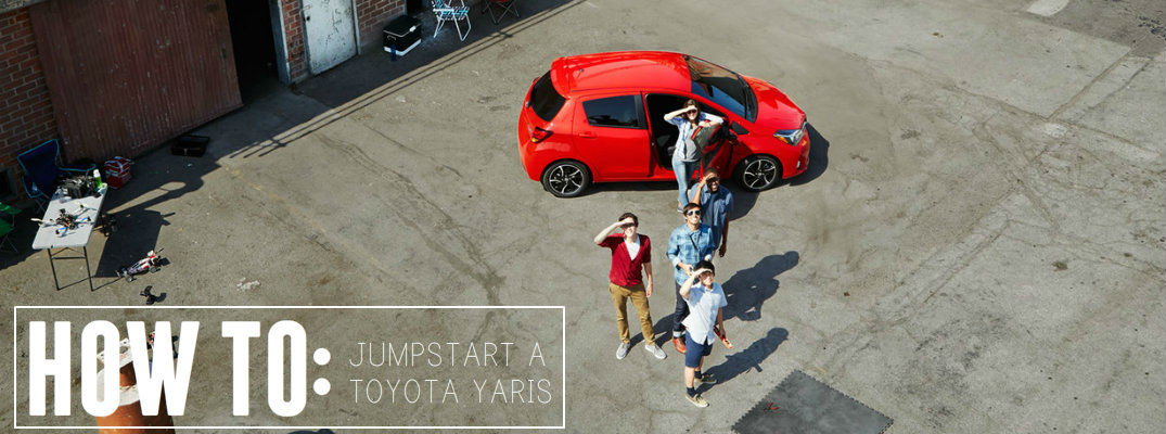 How to jumpstart a Toyota Yaris
