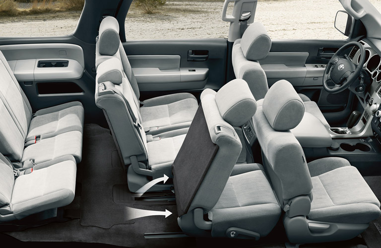 2016 toyota sequoia interior seating