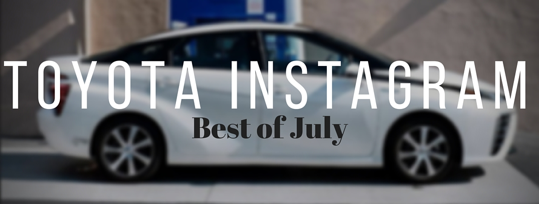 Toyota Instagram best of july mirai