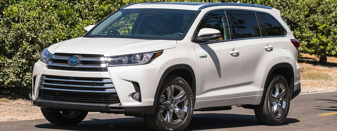 2017 Toyota Highlander Hybrid Color Options