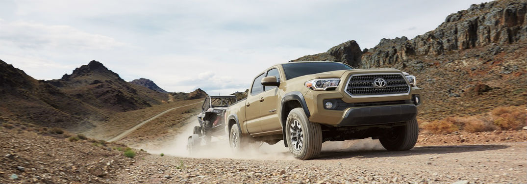 2017 Toyota Tacoma Towing and Off-Road Capabilities