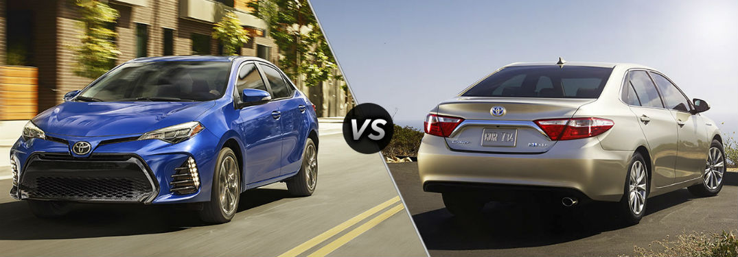 Camry Vs Corolla >> Differences Between The 2018 Toyota Camry And Corolla