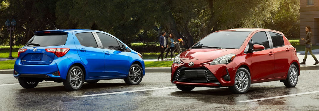 2018 Toyota Yaris Specs and Features