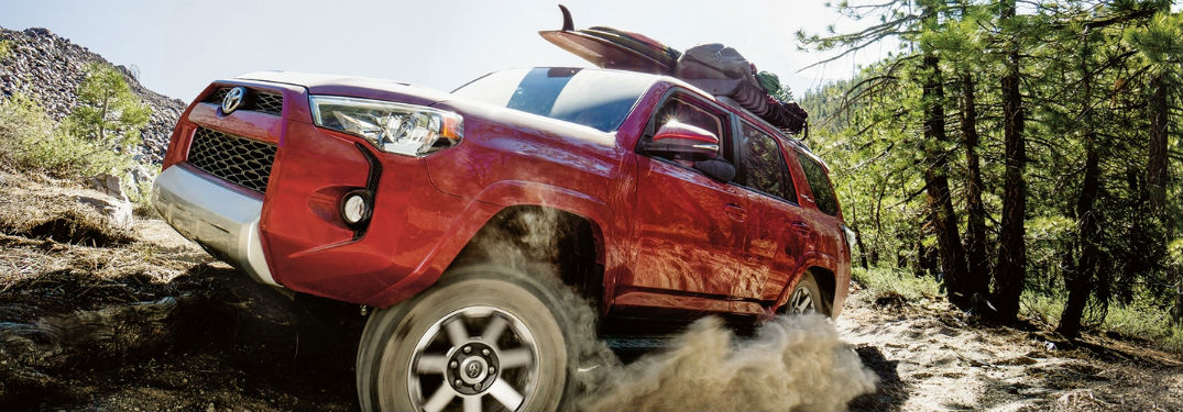 2018 Toyota 4Runner Safety and Technology