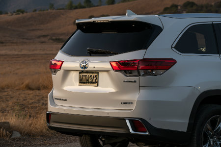 Captivating ... 2018 Toyota Highlander Hybrid Back Hatch White