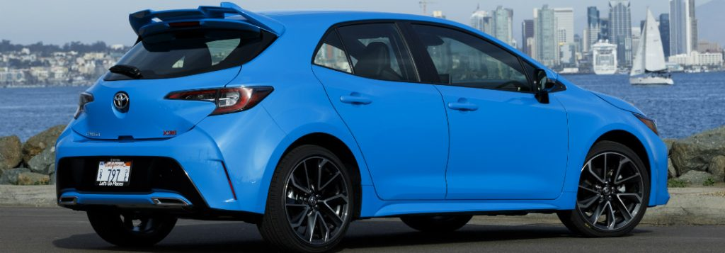 When Will the 2019 Toyota Corolla Hatchback be Available?