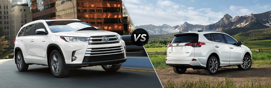 What's the Difference Between the 2018 Toyota Highlander and RAV4?