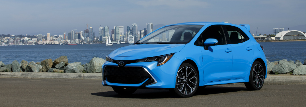 Does The 2019 Toyota Corolla Hatchback Have A Manual Transmission
