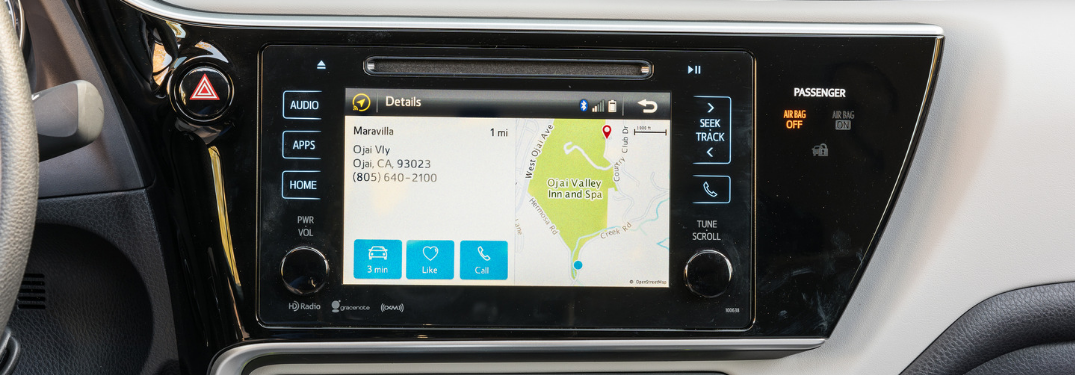 Does the 2019 Toyota Corolla Have a Touch-Screen?