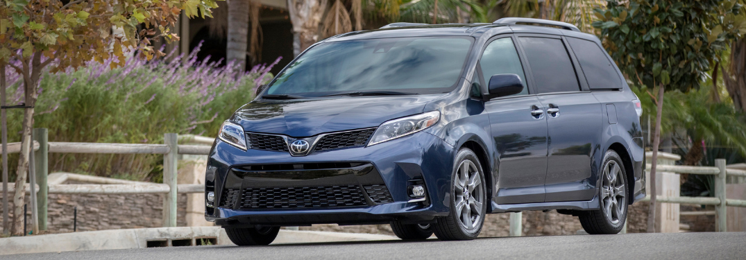 How Much Cargo Space is in the 2019 Toyota Sienna?