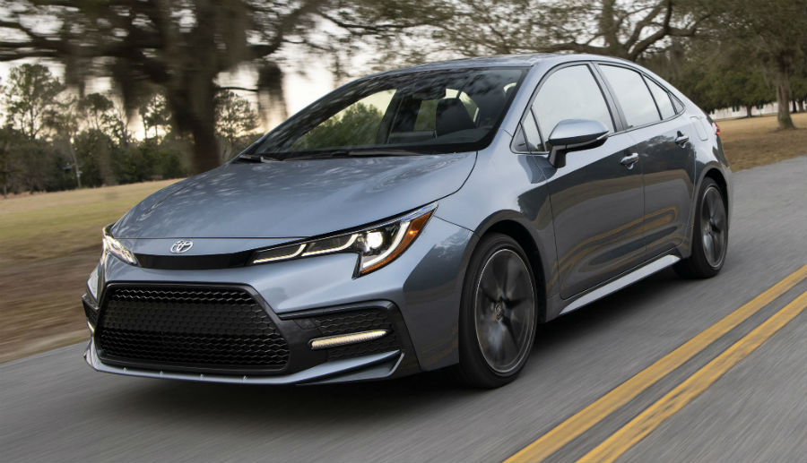 2020 Toyota Corolla XSE Exterior Driver Side Front Angle
