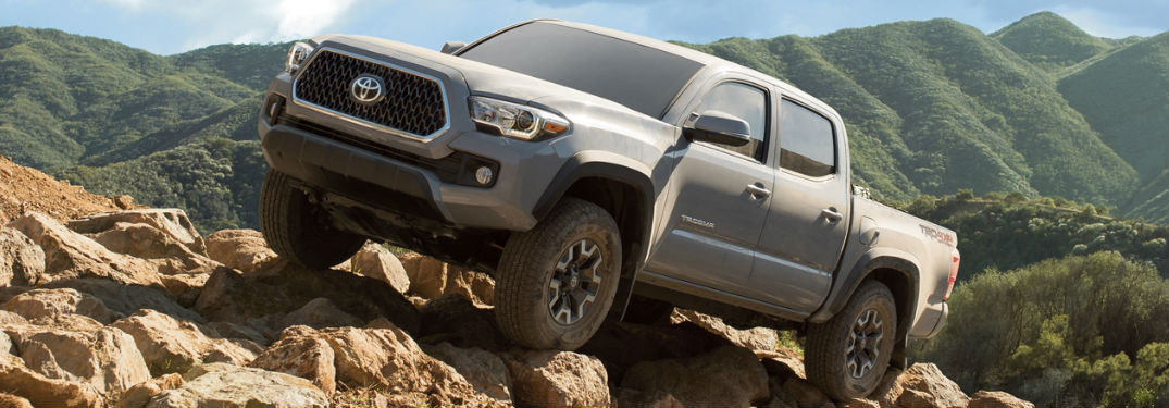 Powerful engine options available in new 2019 Toyota Tacoma pickup truck