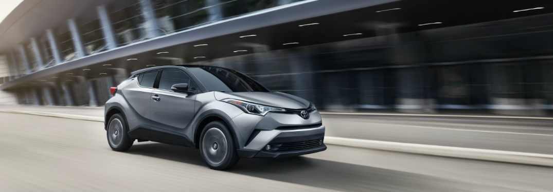 High-tech safety features help give new 2019 Toyota C-HR crossover a top rating for passenger protection