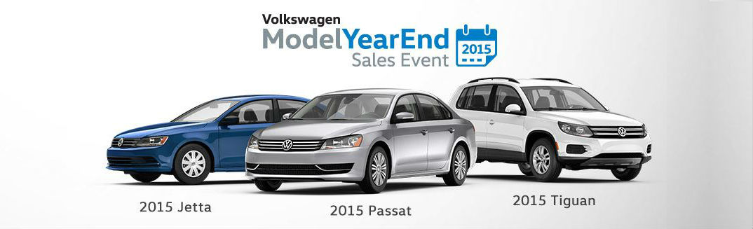 2015 Volkswagen Model Year End Sales Event