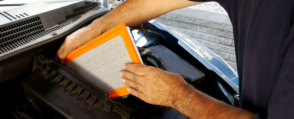 How often should I change my engine filter?