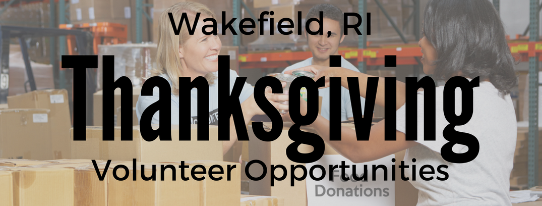 Volunteer Opportunities Near Wakefield Ri For