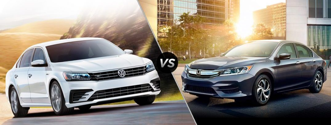 2017 VW Passat vs 2017 Honda Accord