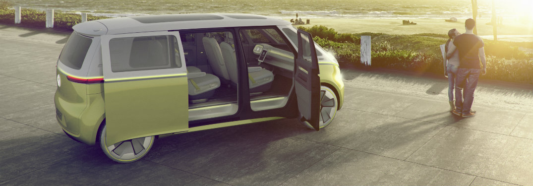 Take a closer look at the Volkswagen I.D. BUZZ concept