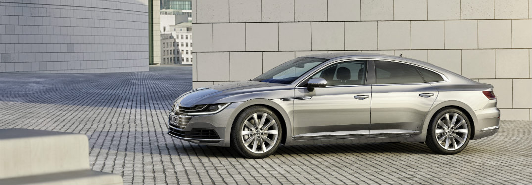 Volkswagen will be offering the new Arteon in models