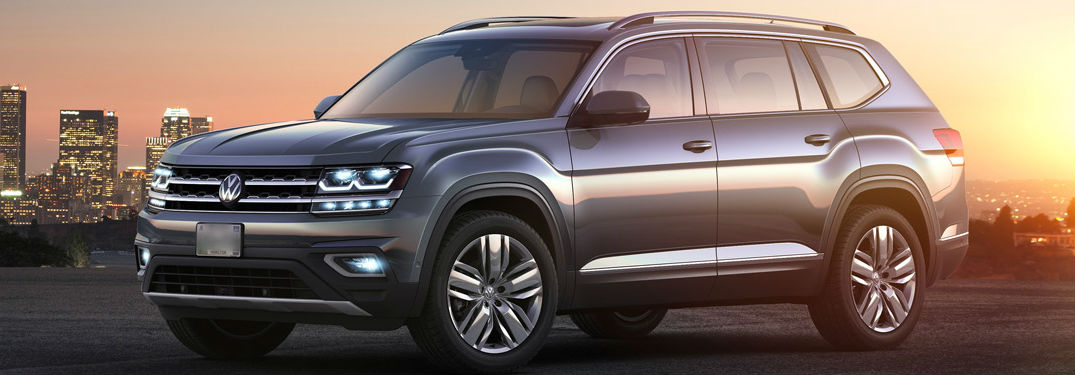 2018 Volkswagen Atlas in gray