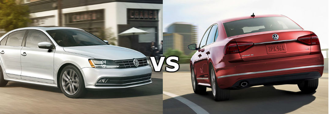 What are the differences between the Jetta and the Passat?