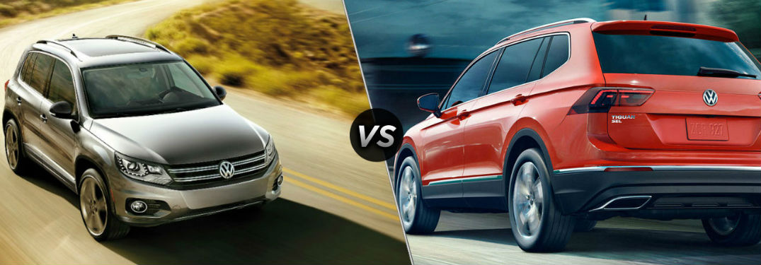 What are the differences between the Tiguan and the Tiguan Limited?