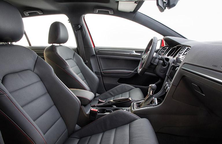 2018 Volkswagen GTI front seating