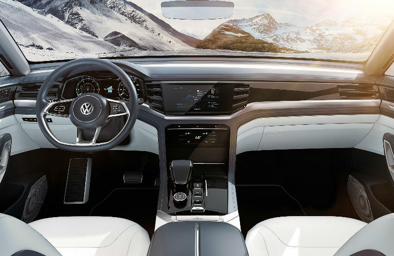 Volkswagen Atlas Cross Sport Concept dashboard